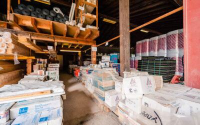 Magasin de matériaux de construction à Saint-Dié
