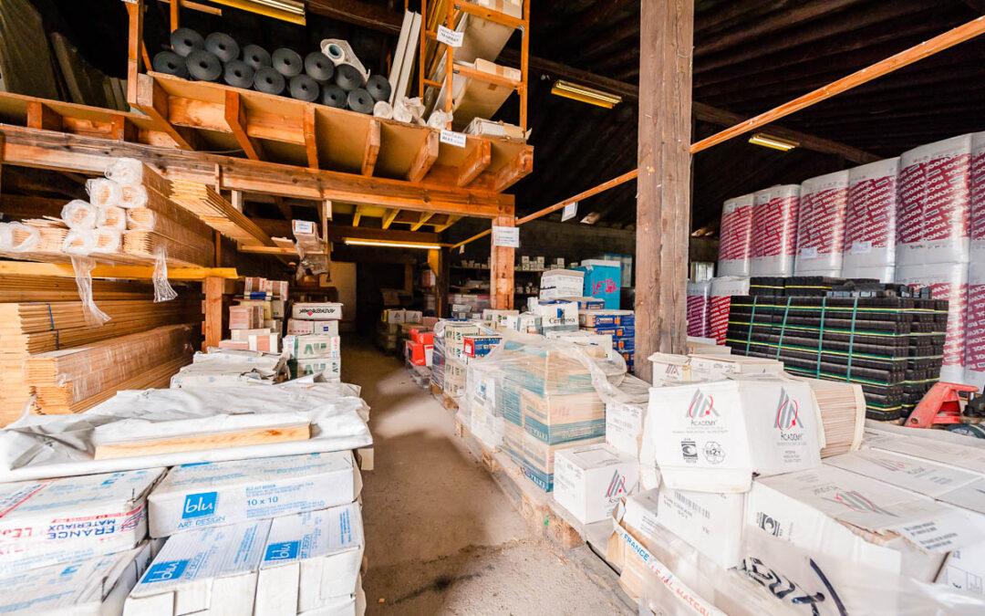 Matériaux professionnels à Saint-Dié