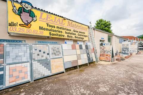 Lejal Matériaux - Votre spécialiste en matériaux de construction dans les Vosges