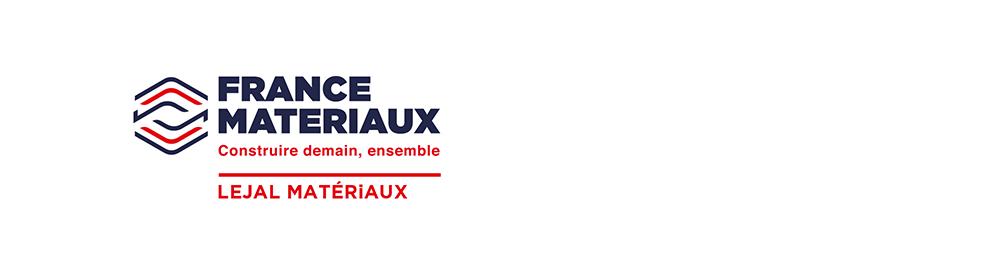 Logo Lejal matériaux - France Matériaux